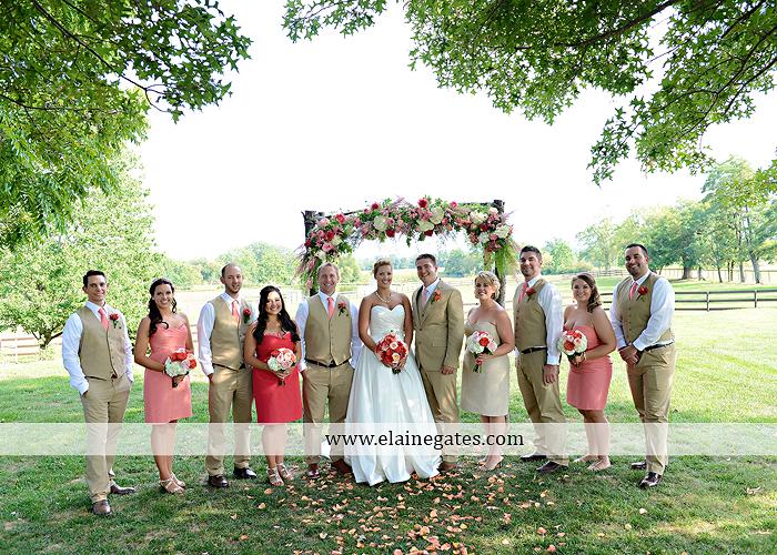 Lakeview Farms wedding photographer Dover pa tan pink Mixed-Up Productions Shearer's Florist Rock, Paper, Scissors J & D Bridals J. Crew Mountz 052