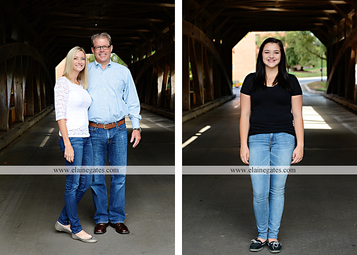 Mechanicsburg Central PA family portrait photographer outdoor boys brothers mother father sisters baby water stream creek trees covered bridge messiah college path rf 13
