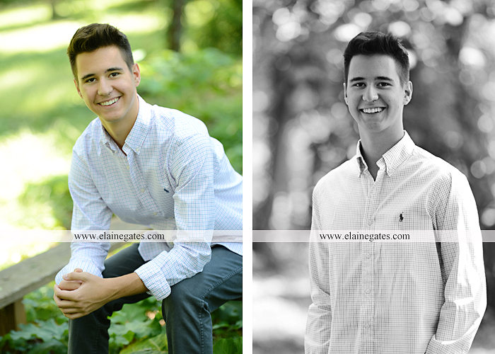 Mechanicsburg Central PA senior portrait photographer outdoor guy male formal trees grass wood stack forest bench nd 06