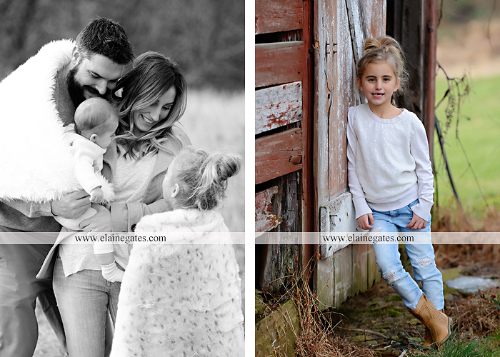 Mechanicsburg Central PA family portrait photographer outdoor girl toddler baby  mother father kiss kids field barn trees ar 08