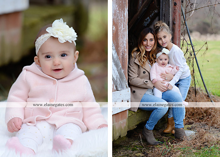 Mechanicsburg Central PA family portrait photographer outdoor girl toddler baby  mother father kiss kids field barn trees ar 09
