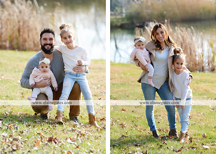 Mechanicsburg Central PA family portrait photographer outdoor girl toddler baby  mother father kiss kids field barn trees ar 14