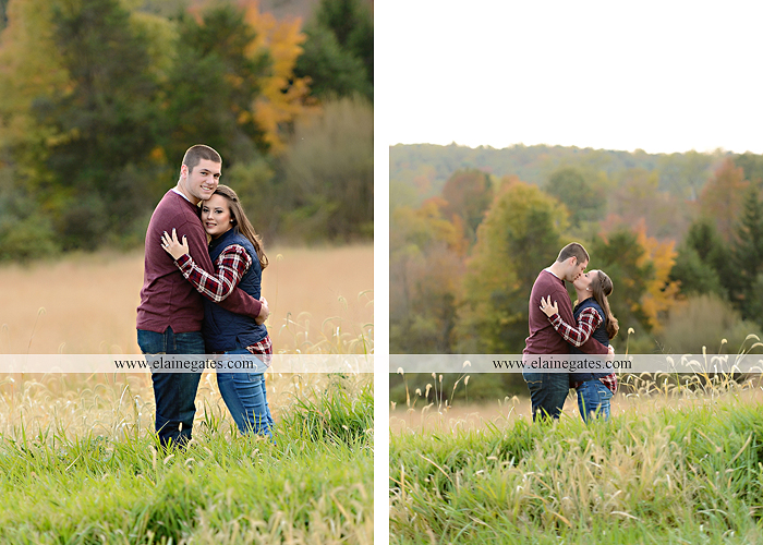Mechanicsburg Central PA engagement portrait photographer outdoor pinchot state park water lake boat dock trees grass field path kiss aw 01