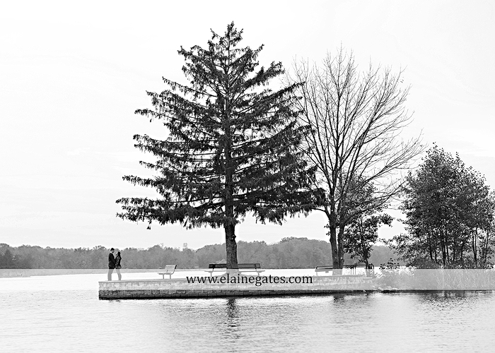 Mechanicsburg Central PA engagement portrait photographer outdoor pinchot state park water lake boat dock trees grass field path kiss aw 03