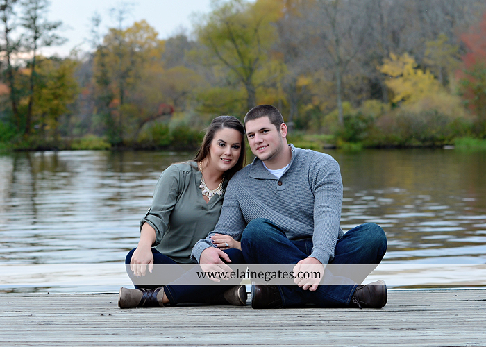 Mechanicsburg Central PA engagement portrait photographer outdoor pinchot state park water lake boat dock trees grass field path kiss aw 06