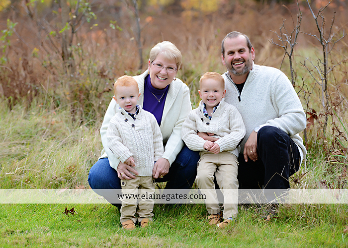 Mechanicsburg Central PA family portrait photographer outdoor boys brothers twins sons mother father husband wife grandparents field water stream creek rh 1