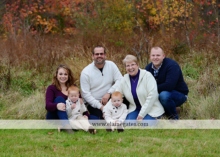 Mechanicsburg Central PA family portrait photographer outdoor boys brothers twins sons mother father husband wife grandparents field water stream creek rh 5