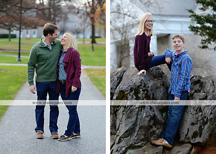 Mechanicsburg Central PA family portrait photographer outdoor girl boy sister brother husband wife father mother dickinson college grass adirondack chair path rocks stone wall leaves tree df 5