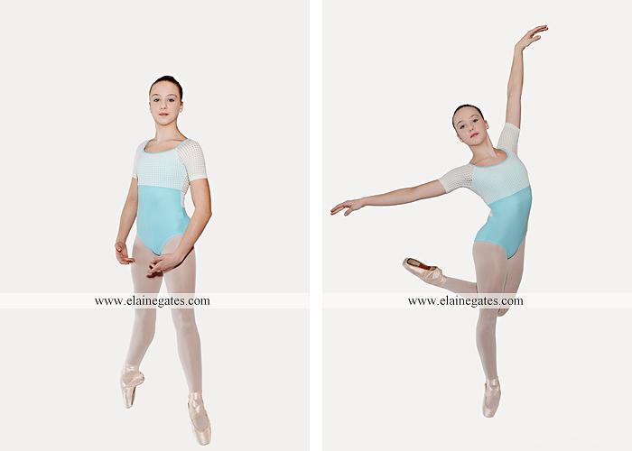 Mechanicsburg Central PA teenager portrait photographer indoor studio girl ballet dance posing headshot jw 6