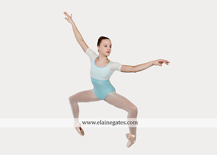 Mechanicsburg Central PA teenager portrait photographer indoor studio girl ballet dance posing headshot jw 7