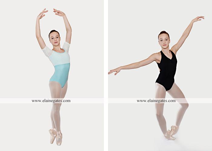 Mechanicsburg Central PA teenager portrait photographer indoor studio girl ballet dance posing headshot jw 8