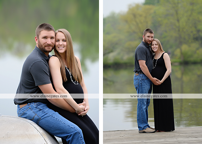 Mechanicsburg Central PA portrait photographer maternity outdoor field pinchot state park Lewisberry lake water boat dock holding hands kiss jb 5