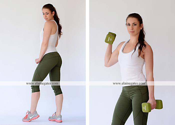Mechanicsburg Central PA portrait photographer model portfolio workout fitness studio indoor outdoor brick wall grass ka 1