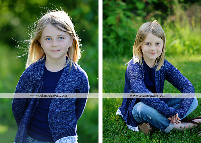 Mechanicsburg Central PA family portrait photographer outdoor children girls sisters mother father mom dad grass path water creek stream shore trees woods steps flowers sb 01