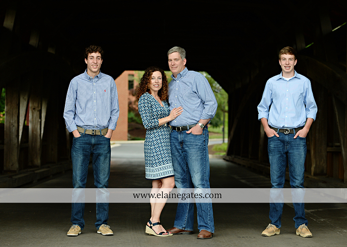 Mechanicsburg Central PA senior portrait photographer outdoor boy guy family brothers mom dad trees path field grass covered bridge messiah college track cross country running athlete at 07