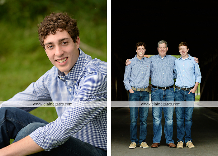 Mechanicsburg Central PA senior portrait photographer outdoor boy guy family brothers mom dad trees path field grass covered bridge messiah college track cross country running athlete at 08