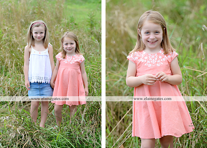 Mechanicsburg Central PA family portrait photographer outdoor children kids daughters sisters mother father field grass rocks water creek stream tb 01