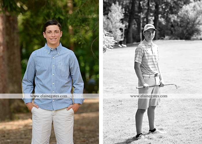 Mechanicsburg Central PA senior portrait photographer outdoor guy male formal trees rocks covered bridge messiah college water creek stream wooden beams golf lacrosse goal trinity bt 08