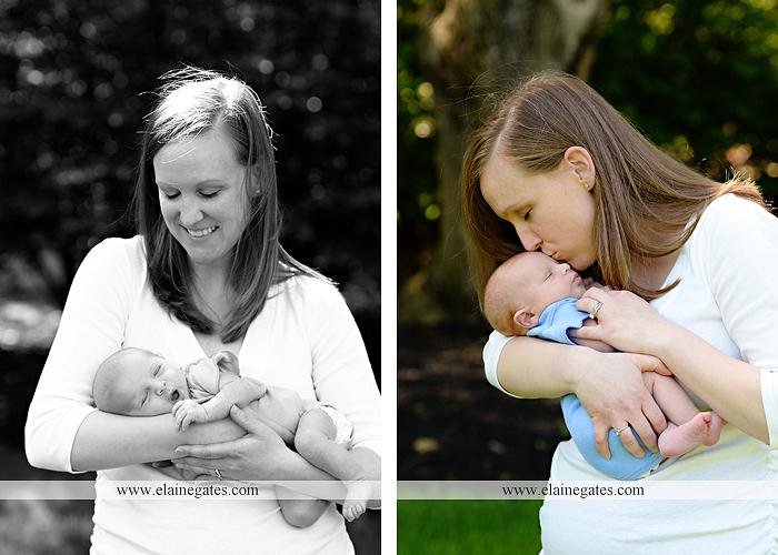 Mechanicsburg Central PA newborn baby portrait photographer boy sleeping blanket knit hat foot hand father dad mom mother kiss mb 12