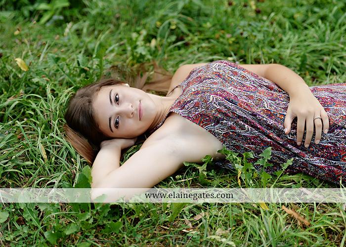 mechanicsburg-central-pa-senior-portrait-photographer-outdoor-girl-female-formal-swing-tree-hammock-grass-wildflowers-field-water-creek-stream-rocks-fallen-tree-kl-11