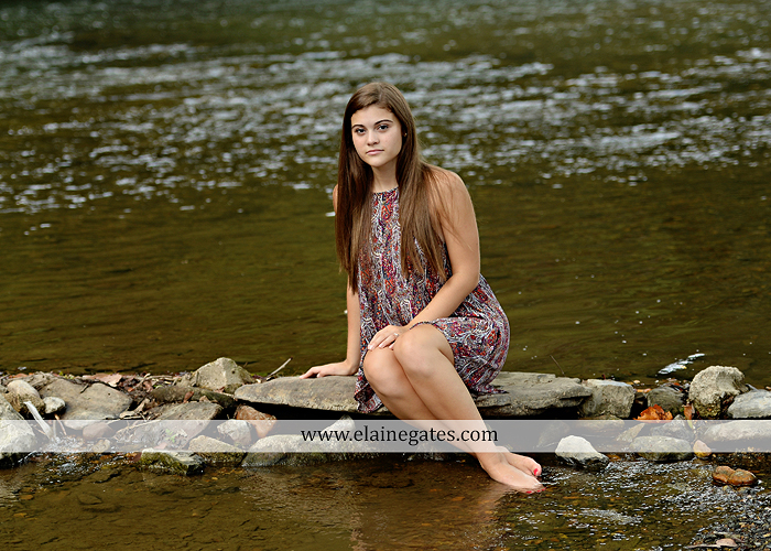 mechanicsburg-central-pa-senior-portrait-photographer-outdoor-girl-female-formal-swing-tree-hammock-grass-wildflowers-field-water-creek-stream-rocks-fallen-tree-kl-13