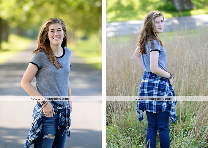mechanicsburg-central-pa-senior-portrait-photographer-outdoor-female-girl-field-road-fence-tree-creek-stream-water-rocks-wp-2
