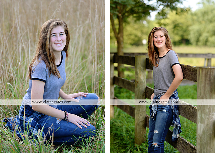 mechanicsburg-central-pa-senior-portrait-photographer-outdoor-female-girl-field-road-fence-tree-creek-stream-water-rocks-wp-3