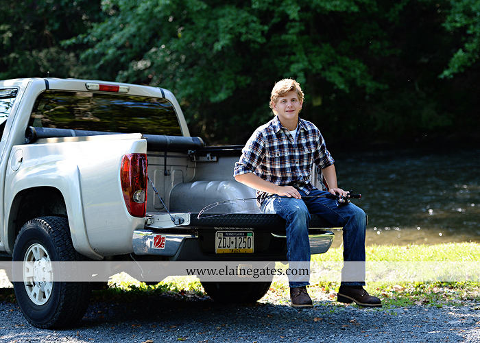 mechanicsburg-central-pa-senior-portrait-photographer-outdoor-male-guy-formal-road-field-tree-fence-rugby-rock-water-creek-stream-pickup-truck-fishing-rod-aw-09