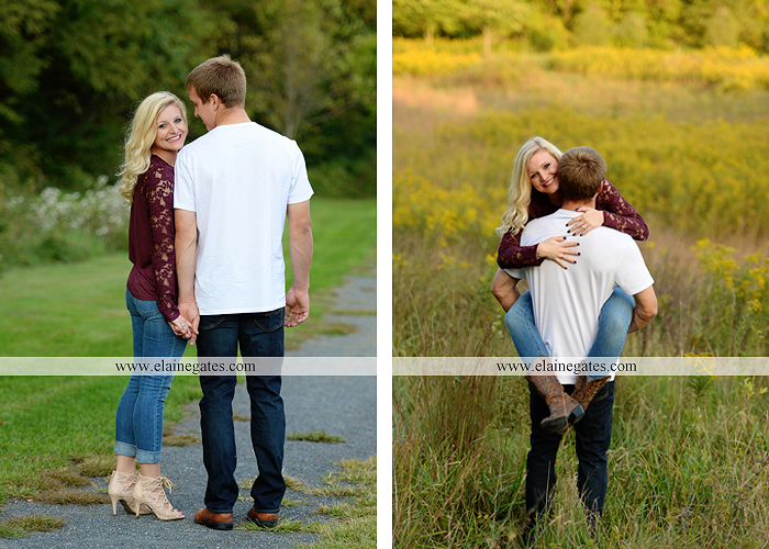 mechanicsburg-central-pa-engagement-portrait-photographer-outdoor-couple-orchard-road-path-trees-holding-hands-kiss-hug-love-barn-field-wildflowers-ls-11